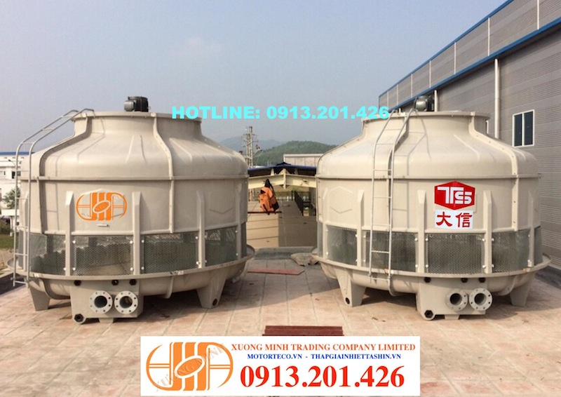 Tháp giải nhiệt, Tháp giải nhiệt 125RT do Xương Minh lắp tại KCN Bình Xuyên Vĩnh Phúc