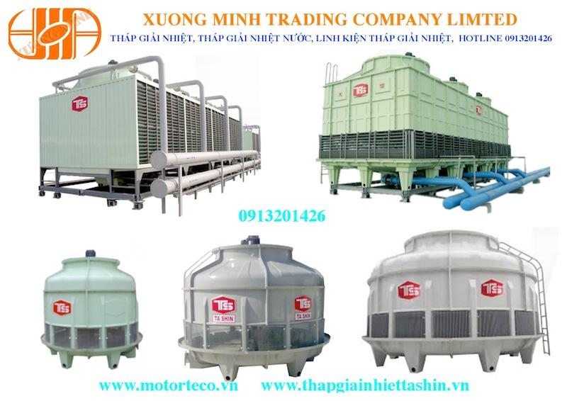 Tháp giải nhiệt nước công nghiệp nhập khẩu