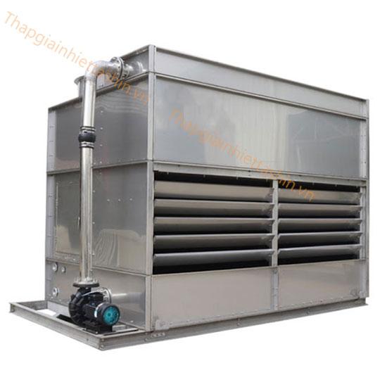 Tháp giải nhiệt kín là gì, ứng dụng ra sao?