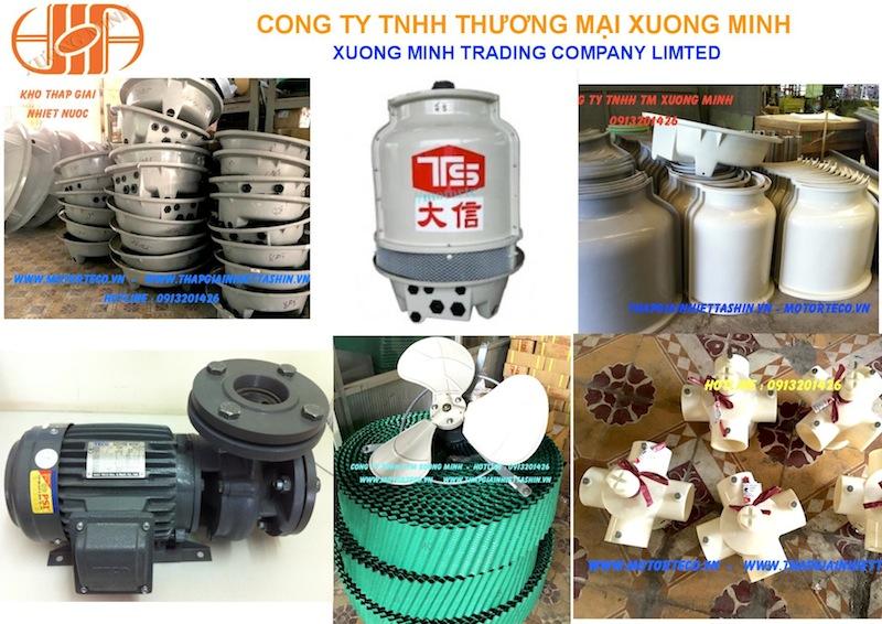 Công ty Xương Minh phân phối cánh quạt, vỏ bồn tháp giải nhiệt